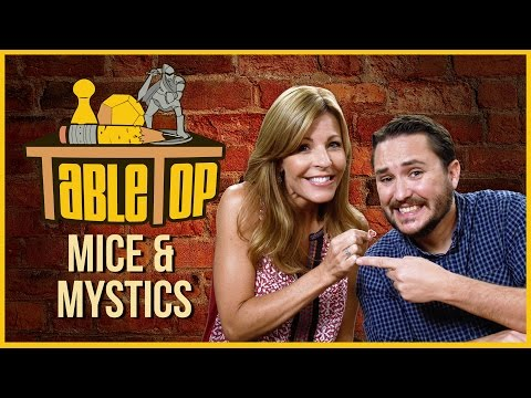 Mice & Mystics Pt. 1: Anne Wheaton joins Wil Wheaton on Tabletop!