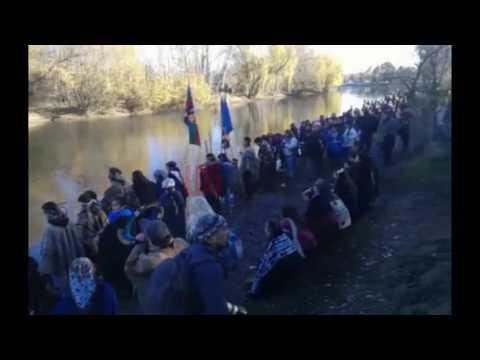 A orillas del río, comenzó la celebración del Año Nuevo Mapuche