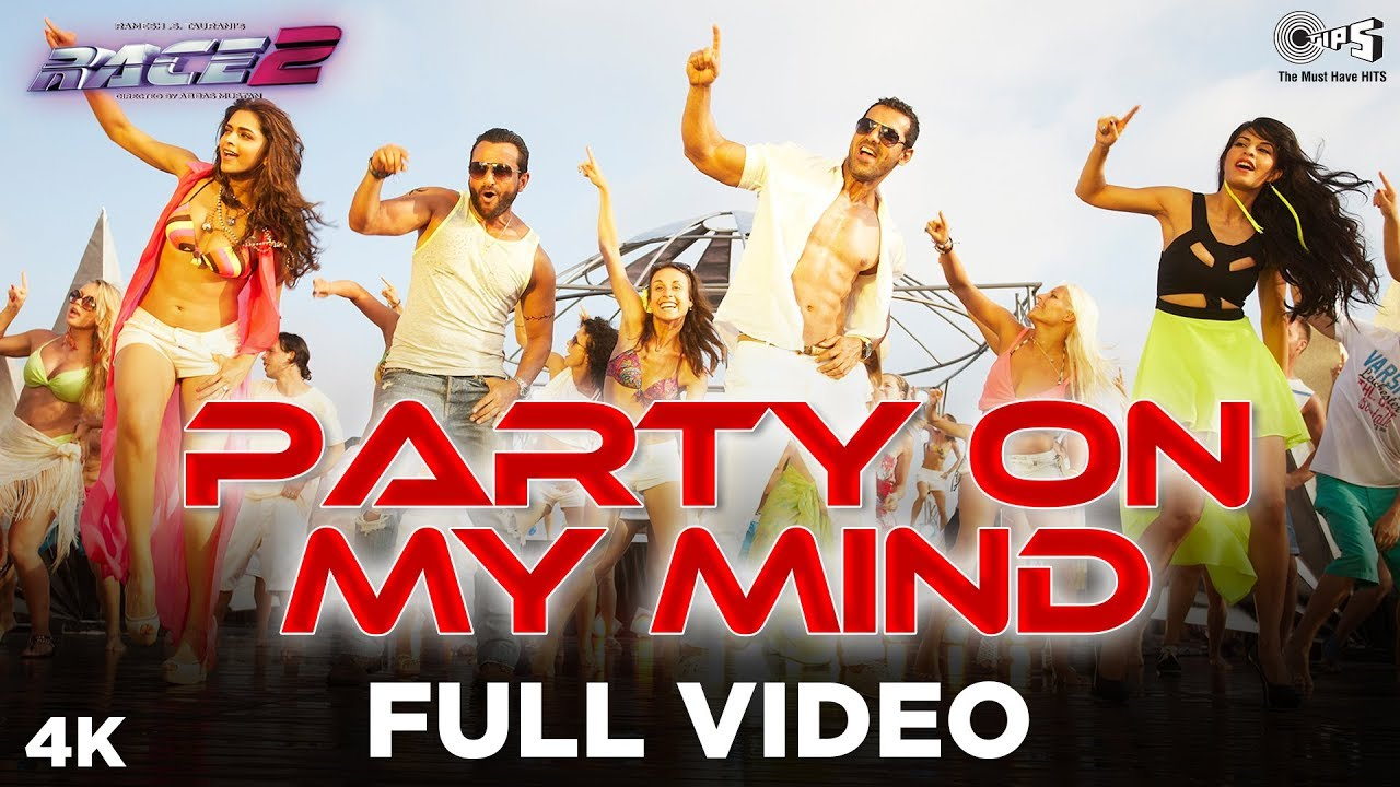 party on my mind race 2 song free download