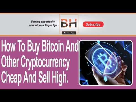 ???? How To Buy Bitcoin And Other Cryptocurrency Cheap And Sell High | Make Money Online