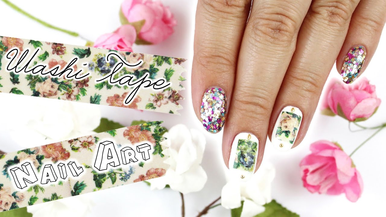 Washi Tape Nail Art How To Remove It Youtube