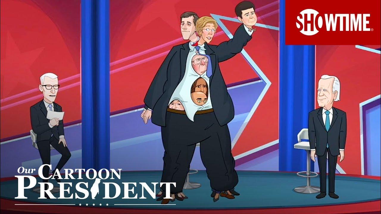 'The Democrats Freak Out Over Cartoon Joe Biden's Lead' Ep. 202 Cold Open | Our Cartoon Pr