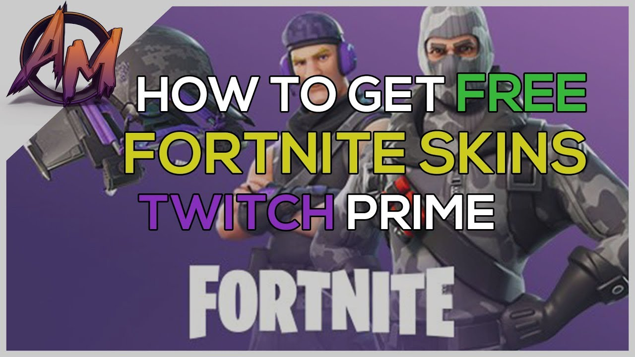 Fortnite   HOW TO GET FREE FORTNITE SKINS WITH TWITCH PRIME (PS4/XBX1/PC)