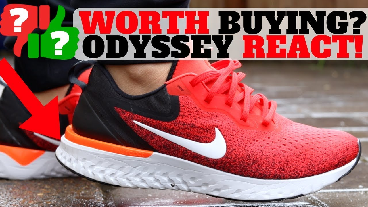 99e992bd6359 After Wearing  NEW  120 Nike ODYSSEY REACT Worth Buying  - YouTube