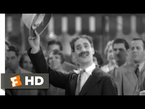 Animal Crackers (1/9) Movie CLIP - Hello, I Must Be Going (1930) HD