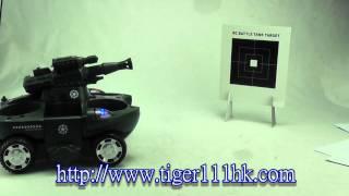 Супер пострелушкі води і Землі р/у амфібія танк Tiger111hk.com
