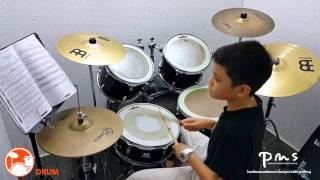 ศึกษานารี - LABANOON Drum cover By ลีโอ อายุ 11ปี ตีอย่างมันส์