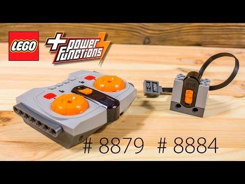 Лего техник. Power Functions. 8879 и 8884. Пульт управления и ик-приемник.