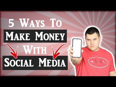 Ways To Make Money On Social Media (5 Proven Ways)