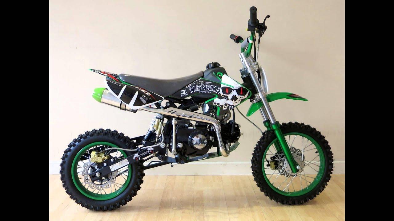 125cc pro dirt bike from funky bikes 125cc pit bike. Black Bedroom Furniture Sets. Home Design Ideas