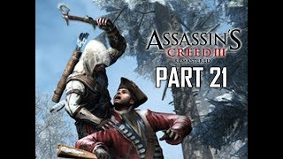 ASSASSIN'S CREED 3 REMASTERED Walkthrough Part 21 - Father & Son (AC3 100% Sync Let's Play )