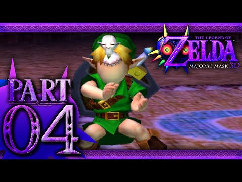 The Legend of Zelda: Majora's Mask 3D - Part 4 - Mask Hunting