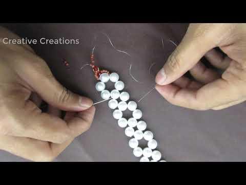diy-easy-bracelet,elegant-pearl-beaded-bracelet,wedding-jewelry,super-easy-tutorial