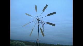 Ветронасос для капельного полива , сборка,работа,размеры(wind pump)