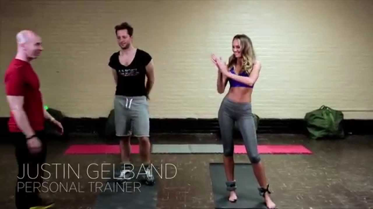 Wiggles Exercise Victorias Secret Candice Swanepoel Vict...
