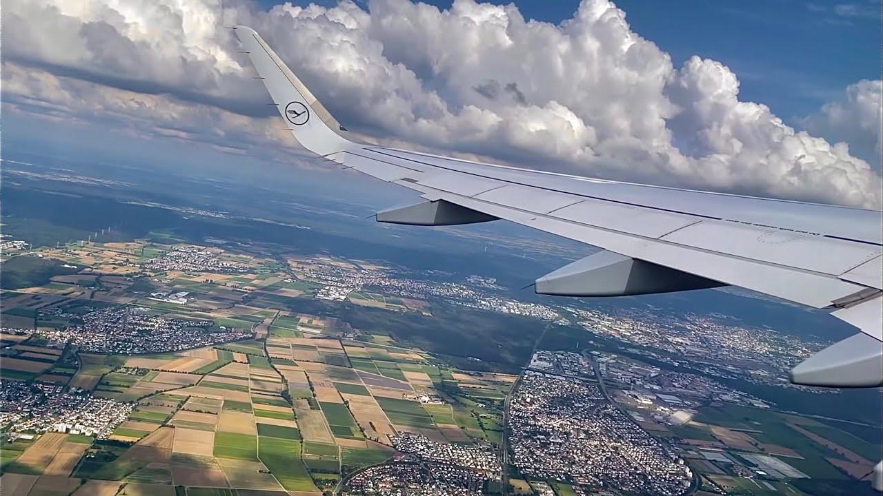 Lufthansa Airbus A320 🇩🇪 Frankfurt FRA - Paris CDG 🇫🇷 from Palma de Mallorca [FULL FLIGHT REPORT