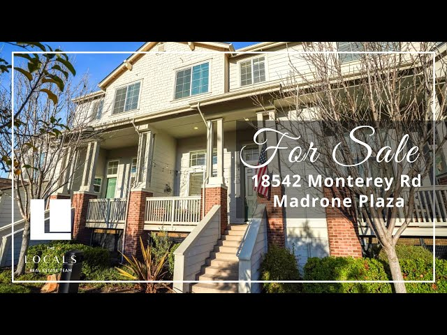 Chic townhome in the heart of beautiful Morgan Hill