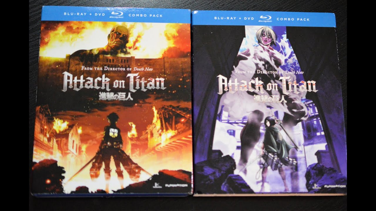 Images Of Attack On Titan Blu Ray Season 1