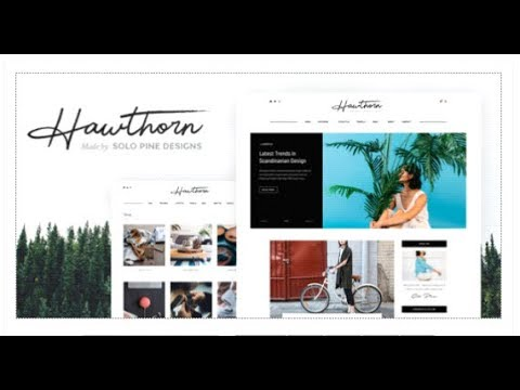 260b95a1f9a6 Hawthorn - A WordPress Blog   Shop Theme