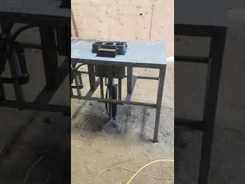 Sawdust briquette press