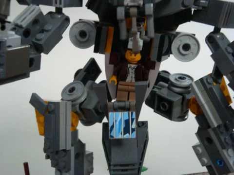Lego District 9 Prawn Suit Youtube
