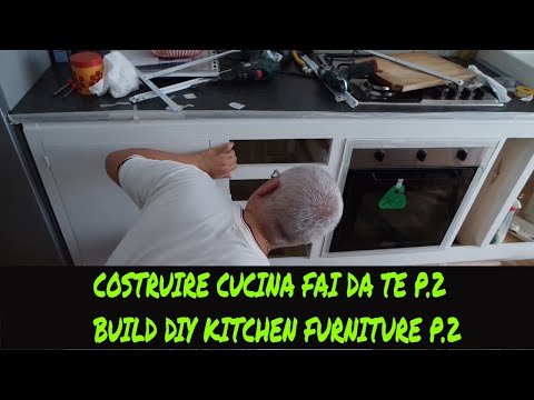 Tutorial costruire una cucina fai da te p.2(Tutorial how to ...