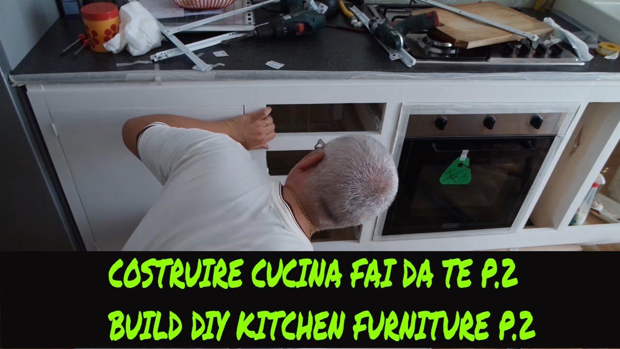 Tutorial costruire una cucina fai da te p.2(Tutorial how to build a ...