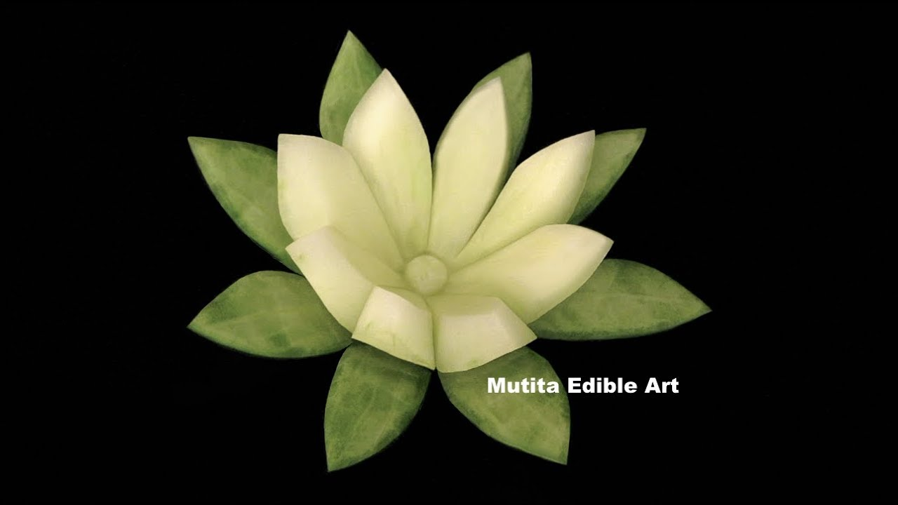 Cucumber lily flower design beginners lesson mutita