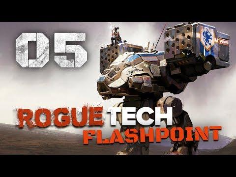 Fighting the Elite - Roguetech / Battletech Flashpoint DLC Career Mode Playthrough #5