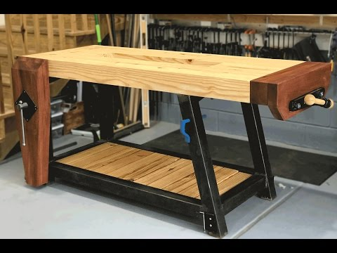 Ultimate Woodworking Workbench Build | Woodbrew