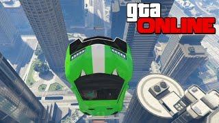 GTA 5 Online (Гонки) - Опасные Полёты на Высоте!