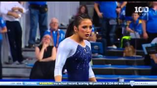 Angi Cipra (UCLA) 2016 Floor vs Utah 9.975