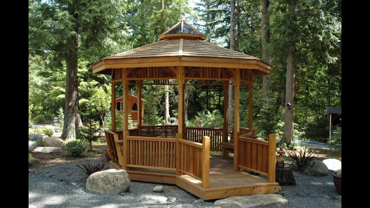 Garden Gazebos YouTube