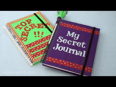 How to Make a Super Secret Diary | Sophie's World