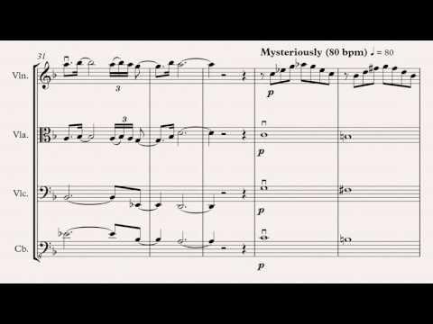 The Misty Mountains Cold (El Hobbit) - Cuarteto de Cuerdas