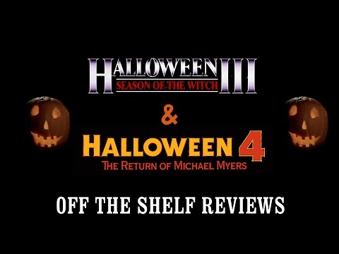 Halloween 3 & 4 Review - Off The Shelf Reviews