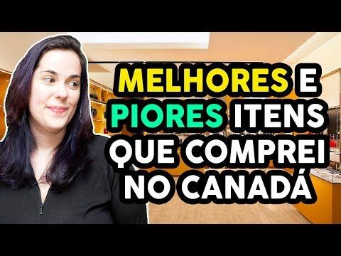 MELHORES E PIORES COMPRAS QUE FIZEMOS NO CANADÁ - O barato que sai caro - S.O.S. recém chegados