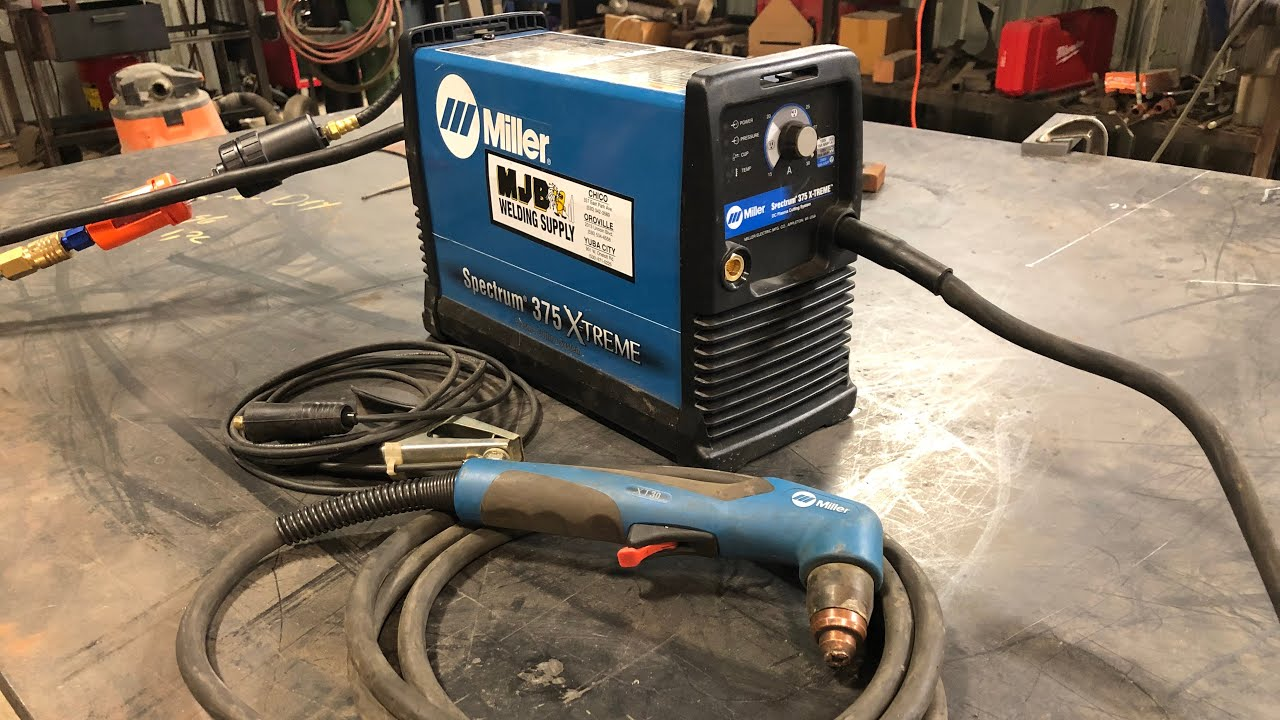 Miller Spectrum 375 >> Tool Review Miller Spectrum 375 Plasma Cutter