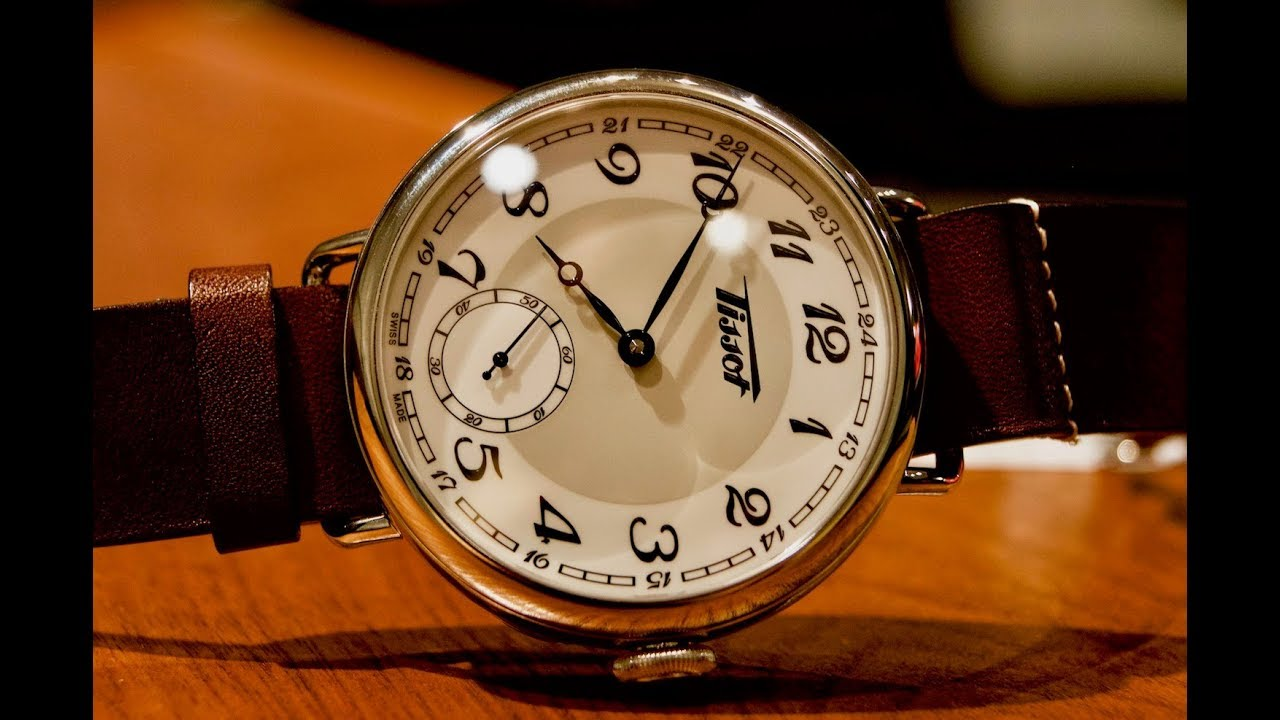 review tissot heritage 1936 youtube