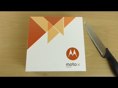 Moto X Force (Droid Turbo 2) Unboxing!  (4K)