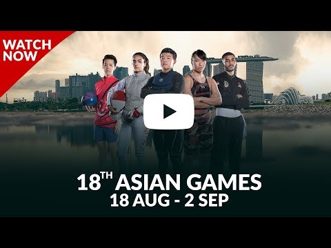"18th Asian Games 2018 - Watch It ""LIVE"" On YouTube"