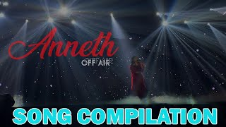 ANNETH LIVE PERFORMANCE - SONG COMPILATION
