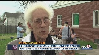 First Church of Cannabis holds 4/20 service