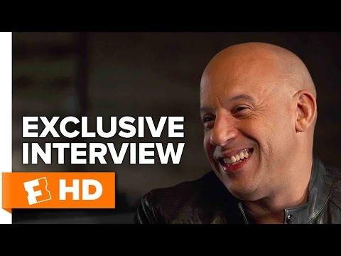 Vin Diesel and Tyrese Gibson Exclusive 'The Fate of the Furious' Interview (2017)