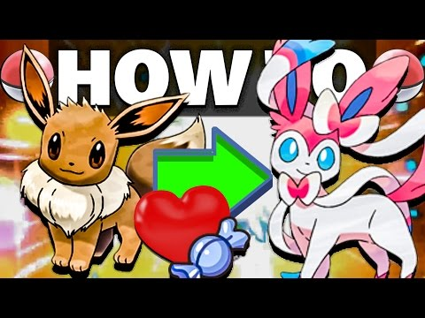 HOW TO Evolve Eevee into Sylveon in Pokemon Sun and Moon