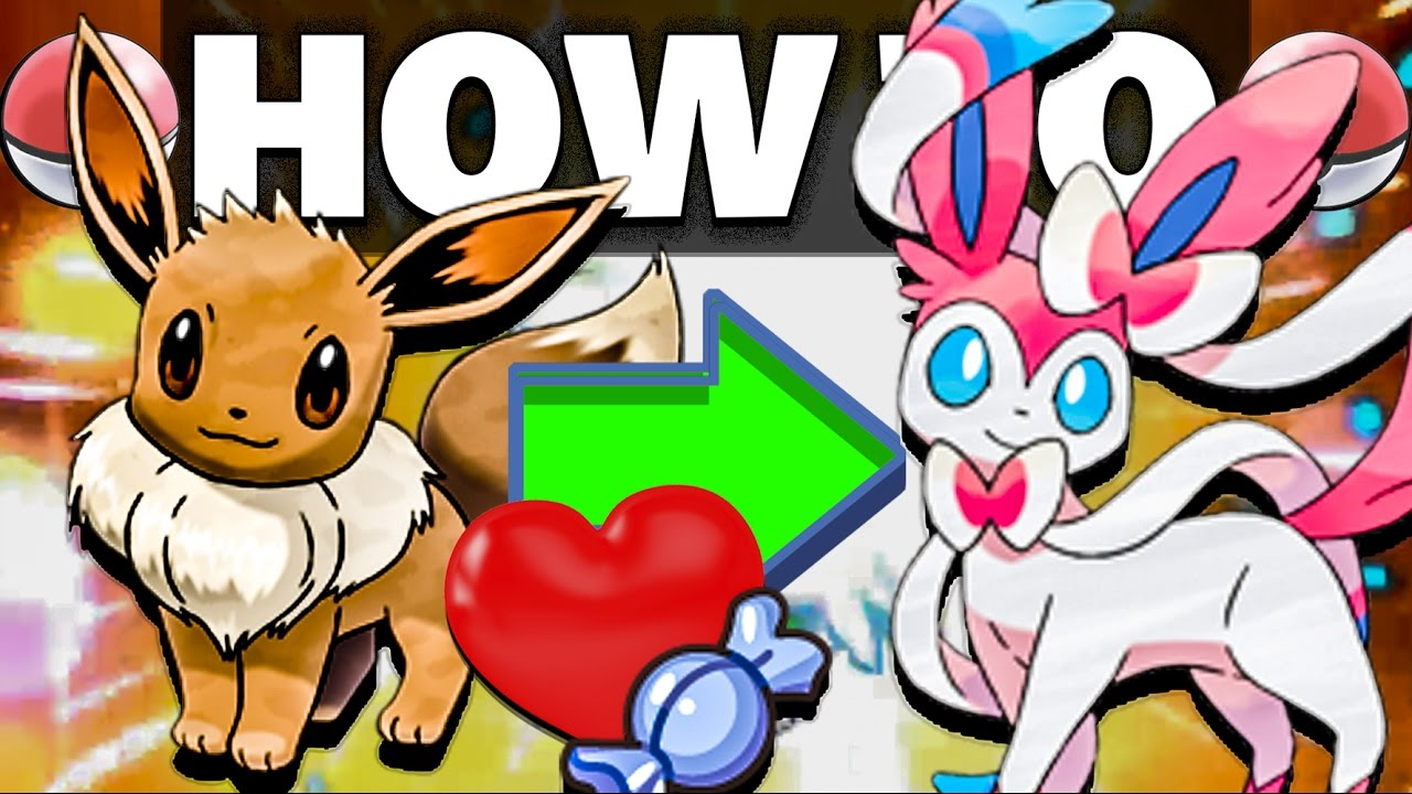 How To Evolve Eevee Into Sylveon In Pokemon Sun And Moon Youtube