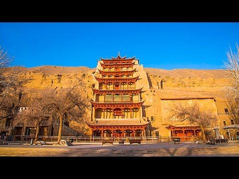 The Temple Caves Of Dunhuang At The Getty, Los Angeles