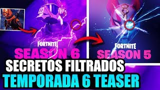 NOUVEAU SEASON SECRETS 6 FORTNITE -OFFICIAL TEASERMD [FILTRATED] Fortnite Bataille Royale