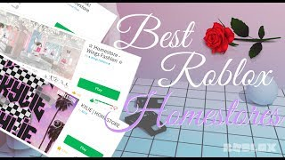 BEST ROBLOX HOMESTORES | [RE-UPLOADED]