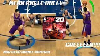 NBA 2K20 MOBILE MONTAGE (IM ONLY A 78 OVR!) (Xanman - Point clean)